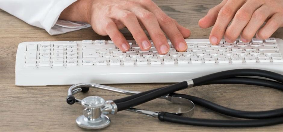 Digitalisierte Arztpraxis