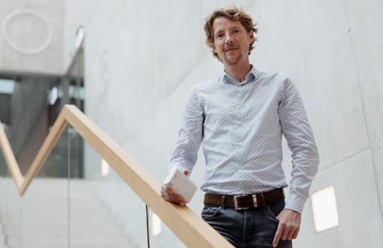 Reinhard Bischoff, Geschäftsführer der Dübendorfer Decentlab AG