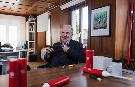 Walter Schmidt est la tête pensante de la société Plantcare