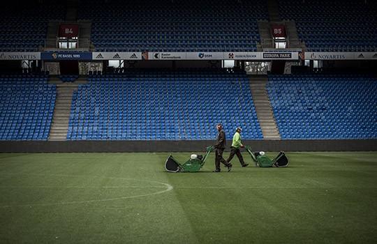 Reportage Greenkeeper FCB