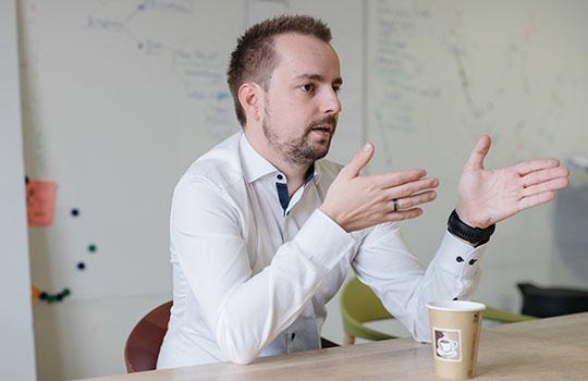 Julian Doemer im Gespräch