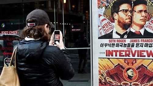 «The Interview» löste einen nordkoreanischen Cyberangriff aus. Bild: Keystone.