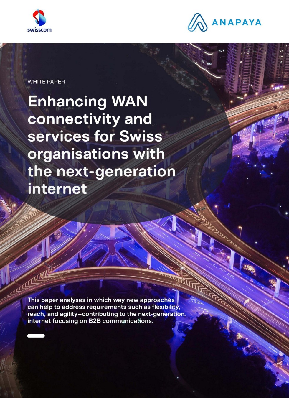 Enhancing WAN connectivity and services for Swiss organisations with the next-generation internet.