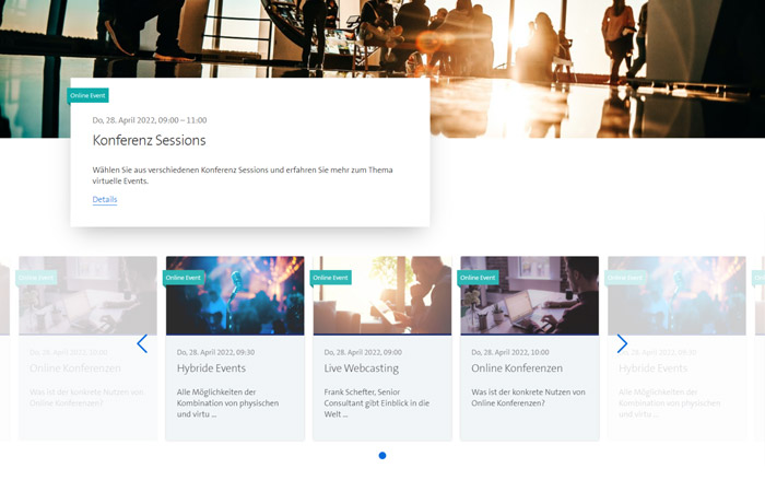 Einfache oder mehrfache Sessions konfigurieren