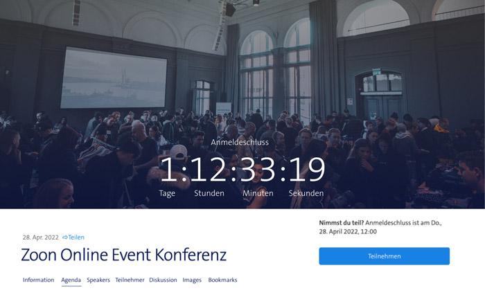 Event Live übertragen