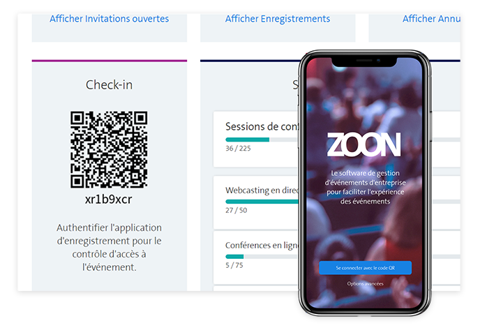Check-in mit mobile App