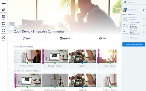 Community Portal konfigurieren