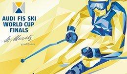 Abfahrt- Alpines Ski Weltcup Finale St. Moritz
