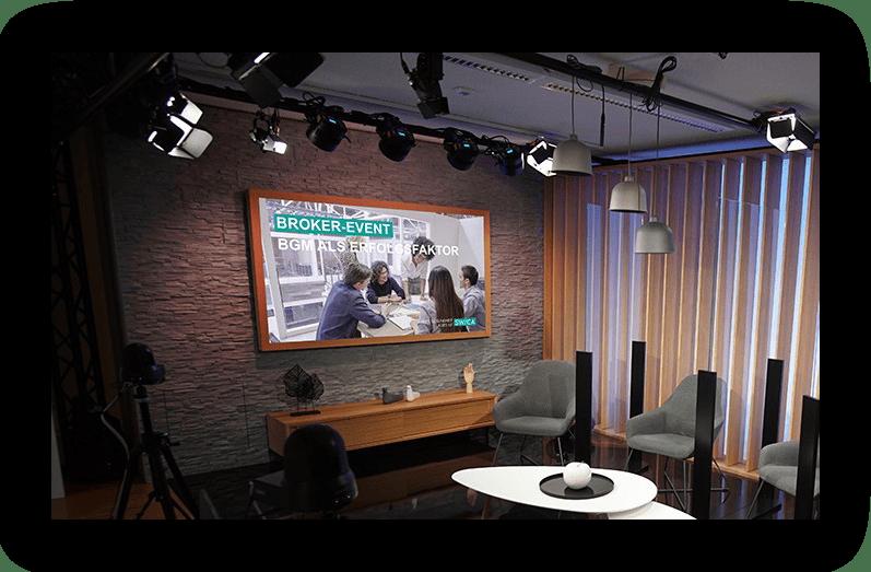 streaming studio swica