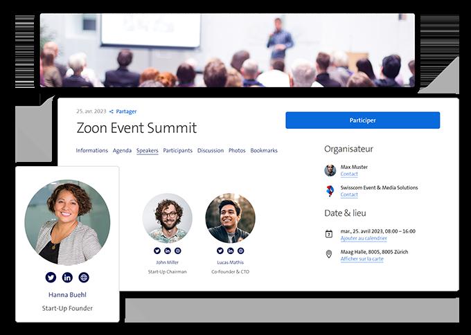 Event Webseite erstellen