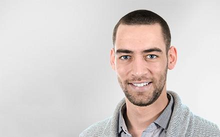 Damien Campino, Project Manager, Mann, Profilfoto