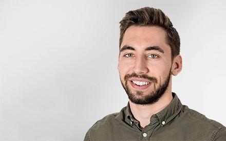 Fabian Häfliger, Project Manager, Mann, Profilfoto
