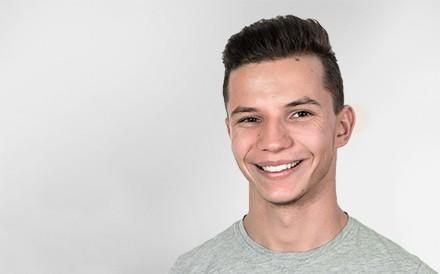 Florian Oswald, Software Developer, Mann, Profilfoto