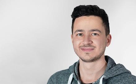 Marc Bischof, DevOps Engineer, Mann, Profilfoto