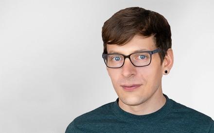 Simon Gadient, Software Engineer, Mann, Profilfoto