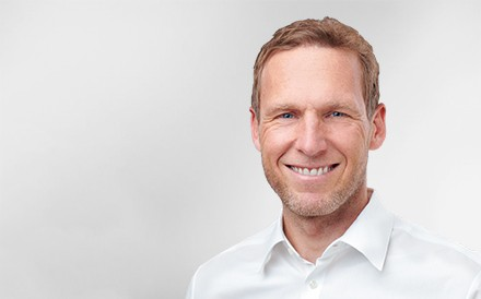 Sven Bethke, Chief Executive Officer, Mann, Profilfoto