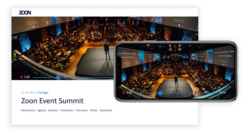 Virtuelle Events im eigenen Branding anlegen