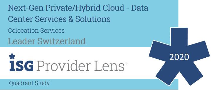 Logo der ISG Provider Lens 2020