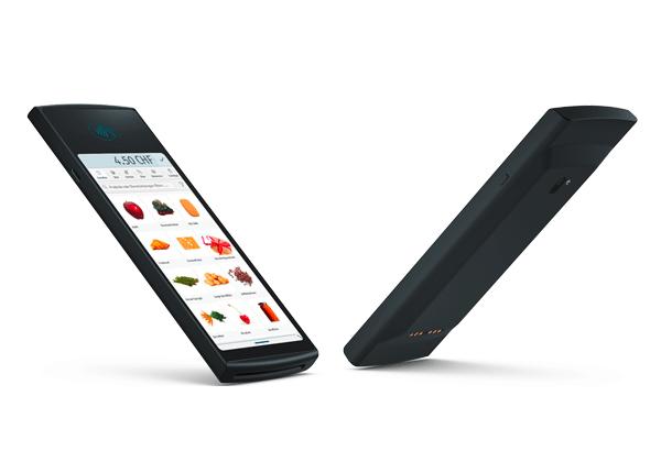 The modern design of the electronic cash register, enforeDonner