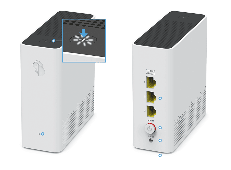 Swisscom WLAN-Box 2 - Pairing / Verbindungstaste