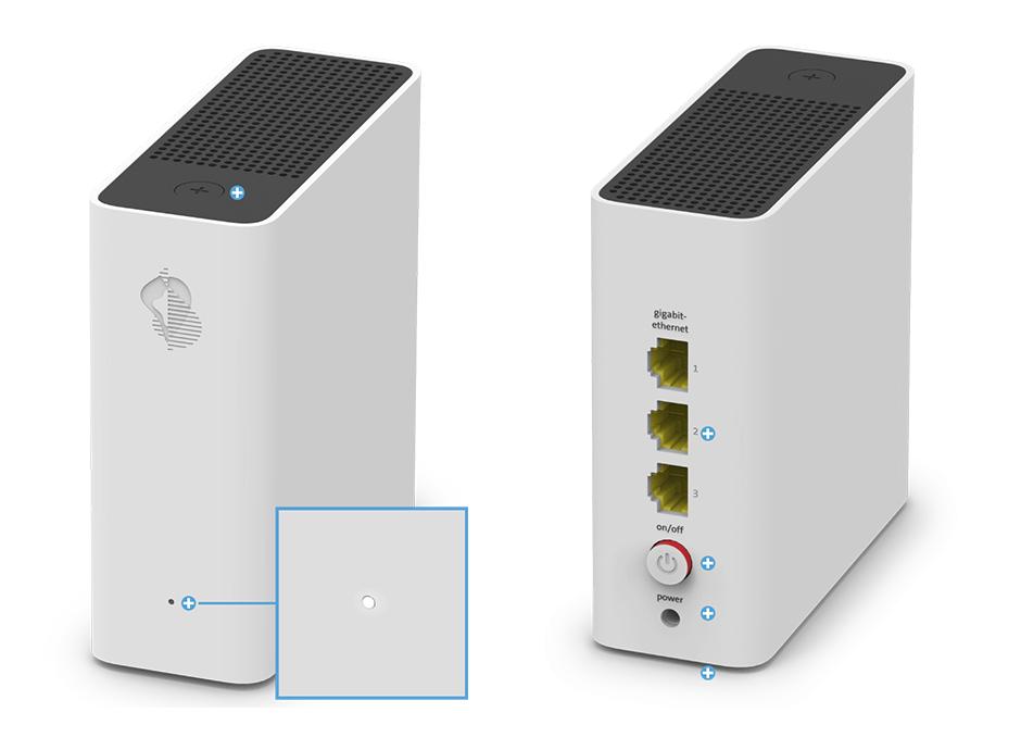 Swisscom WLAN-Box - Status LED