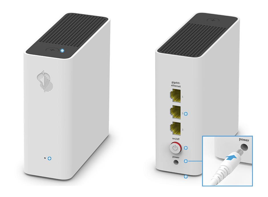 Swisscom WLAN-Box - Stromanschluss
