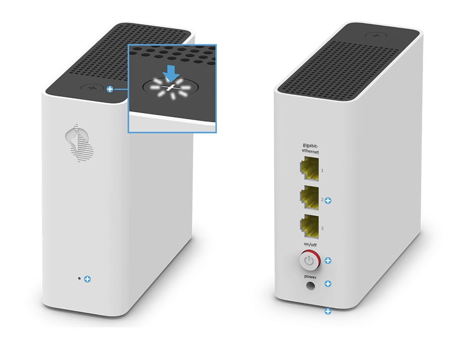 Swisscom WLAN-Box - Pairing / Verbindungstaste