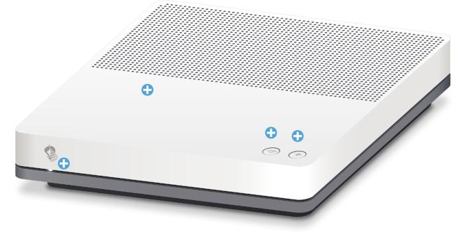 Swisscom Internet-Box standard - Vorderseite