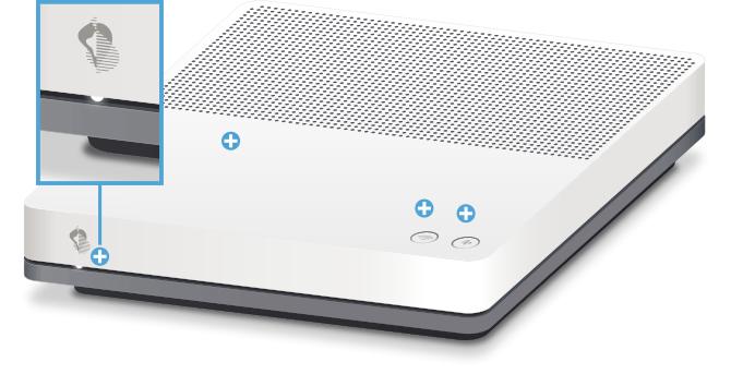Swisscom Internet-Box standard - Vorderseite Status LED
