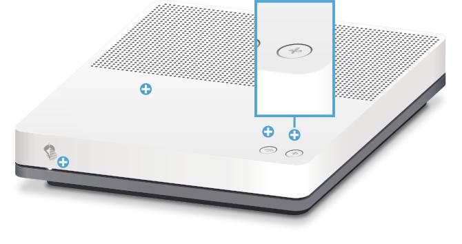Swisscom Internet-Box standard - Vorderseite Pairing / Verbindungstaste