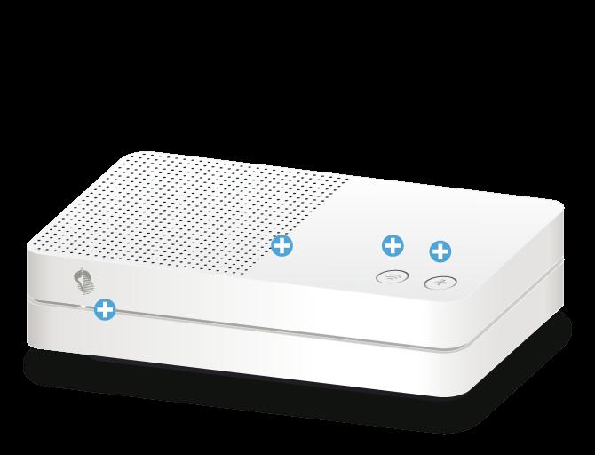 Swisscom Internet-Box light - Vorderseite