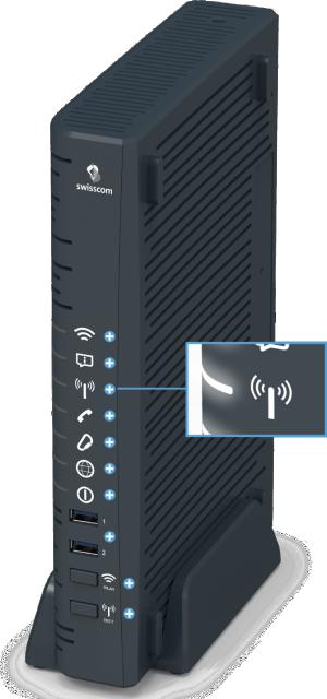 Swisscom Centro Business 2.0 - Vorderseite DECT-LED