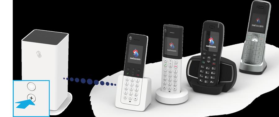 HD Phone verbinden mit dem Internet Router (pairing)