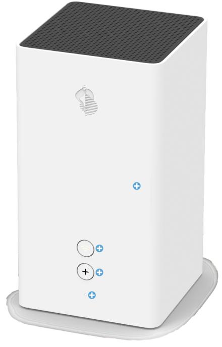 Swisscom Internet Box 2 - Vorderseite