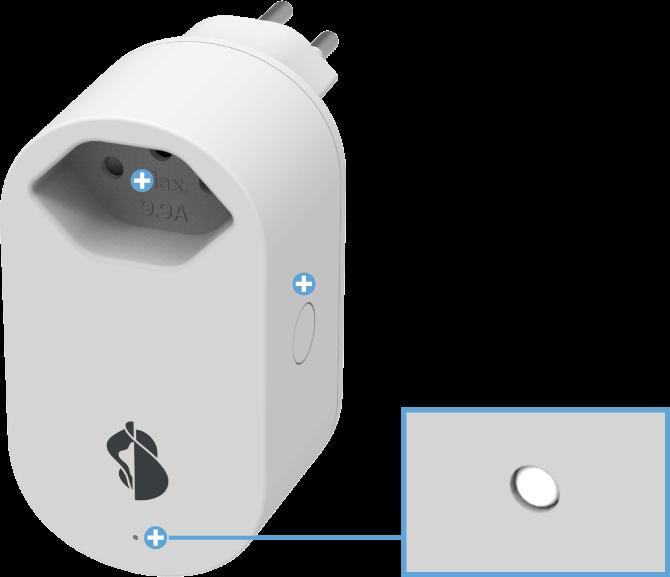 Swisscom Smart Switch - WLAN Steckdose - Bedeutung der LED