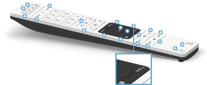 Swisscom blue TV Fernbedienung - Zurück