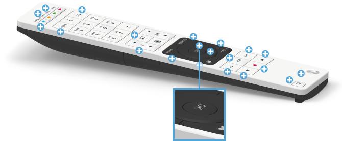Swisscom blue TV Fernbedienung - ok