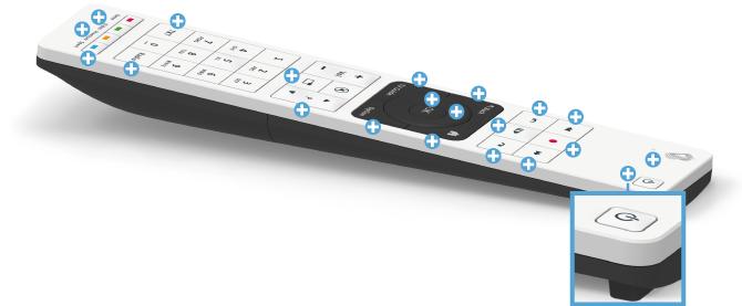 Swisscom blue TV Fernbedienung - Power