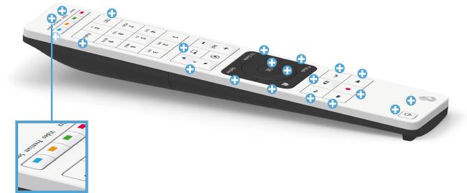 Swisscom blue TV Fernbedienung - Premium