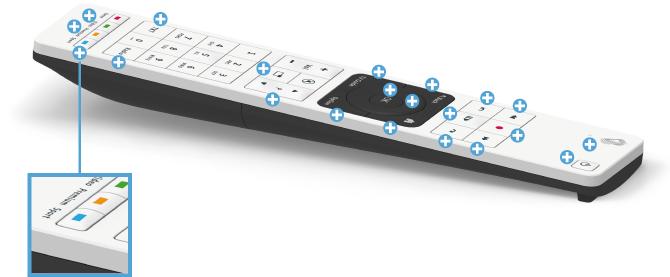 Swisscom blue TV Fernbedienung - Sport