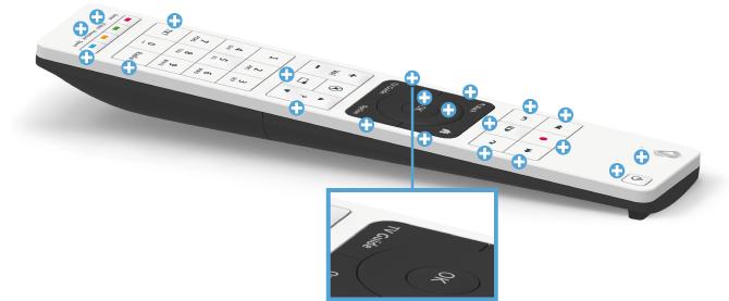 Swisscom blue TV Fernbedienung - TV Guide