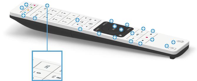 Swisscom blue TV Fernbedienung - Teletext