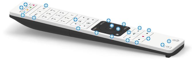 Swisscom blue TV Fernbedienung