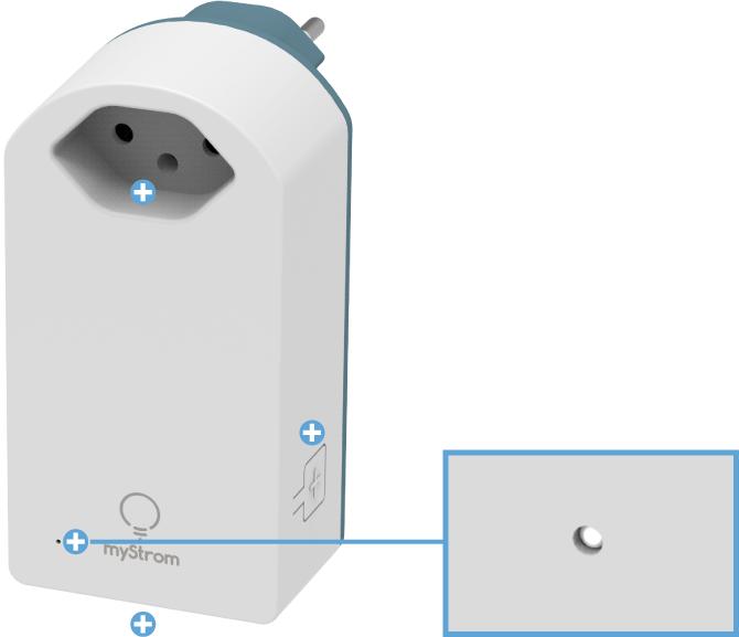 Swisscom Powerline 2000 Connection Kit - WLAN Steckdose - Status LED