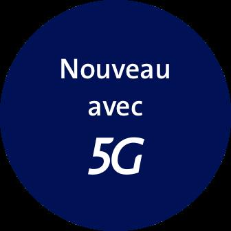 Nouveau avec 5G