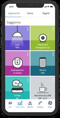 home app festnetz screen