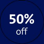 50 Prozent Bubble