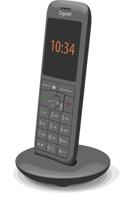 Swisscom HD-Phone Gigaset CL660HX (Festnetztelefon) - Firmware Aktualisierung