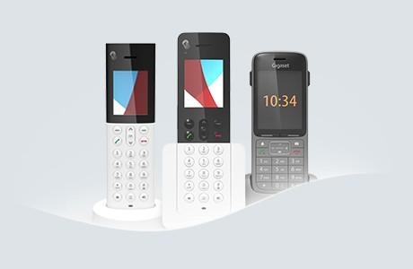 Drei HD-Telefone