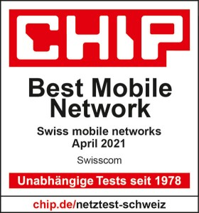 Logo chip meilleur réseau